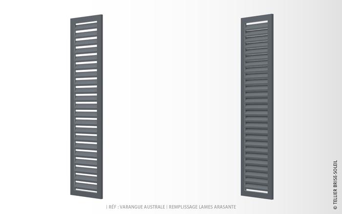 volet pliant avec remplissage plein ou persienn tellier. Black Bedroom Furniture Sets. Home Design Ideas