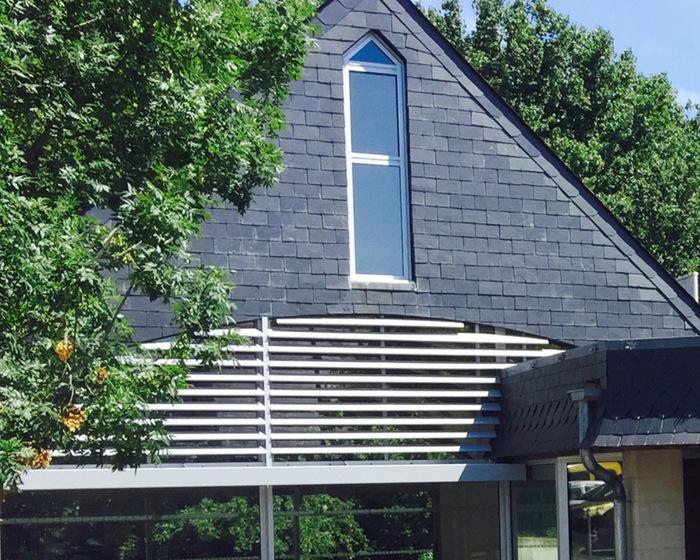 c100 lames clipsables simple peau brise soleil fixe. Black Bedroom Furniture Sets. Home Design Ideas